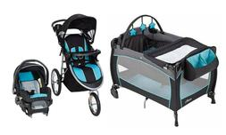 Baby Boy Stroller Jogger with Car Seat Travel System Playard