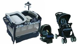Graco Baby Stroller with Car Seat Travel  Portable Playard R