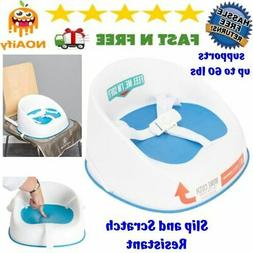 Booster Seat with Back Table Dining Toddler Kids Feeding for
