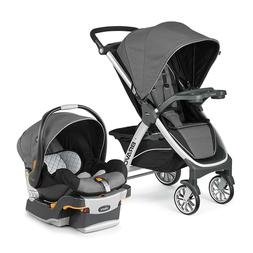 Chicco Bravo Trio Travel System, Stroller Car Seat w Base Or