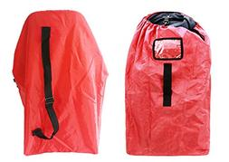 Car Seat Travel Bag, Airport Gate Check Bag with Easy-to-Car