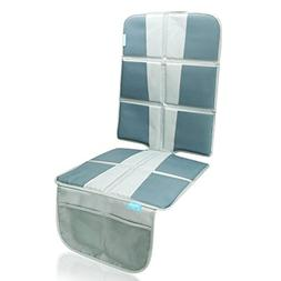 Car Seat Protector Under Baby Carseat- Extra Padded for XL S