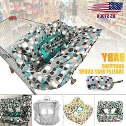 Child Baby Kid Shopping Trolley Cart Cover Seat High Chair P