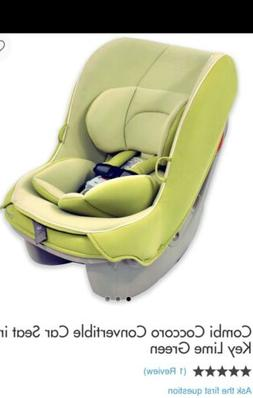 Combi Coccoror convertible carseats in Key lime Green
