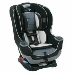 Convertible Car Seat Extend to fit , Black and Grey Rear and
