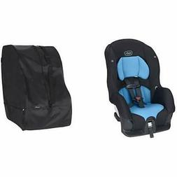 Evenflo Tribute Convertible LX Car Seat, Azure Coast With Tr