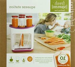 Infantino Fresh Squeezed Squeeze Station Baby Food Maker Sto