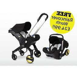 Doona Infant Car Seat Stroller-Night + FREE Raincover Worth