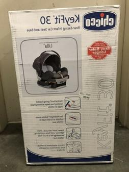 Chicco KeyFit 30 Lilla Infant Rear Facing Car Seat and Base