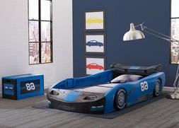 Kids Twin Bed Frame Race Car Toddler Beds For Boys Child Kid