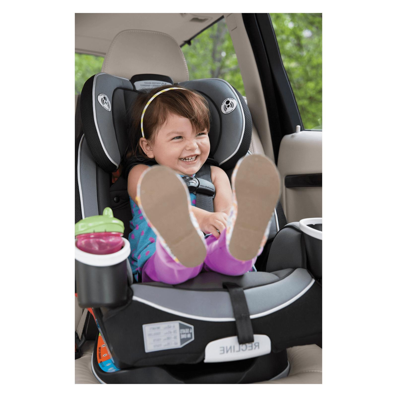baby convertible car seat gray infant toddler