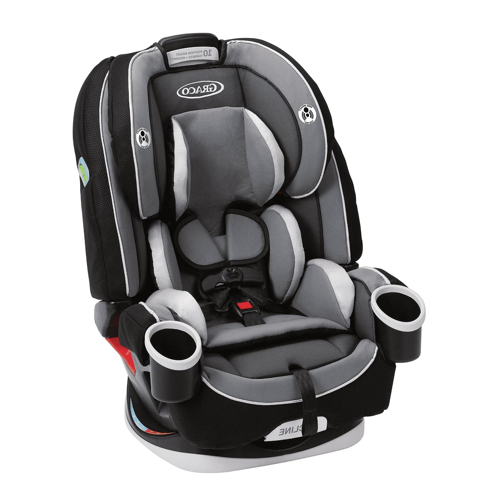 Baby Convertible Car Booster 6 Position Recline