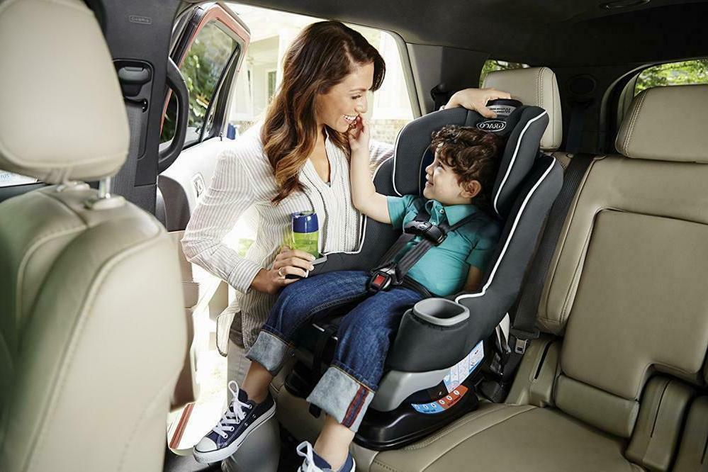 8/19 Graco Extend2Fit Car Seat Gotham
