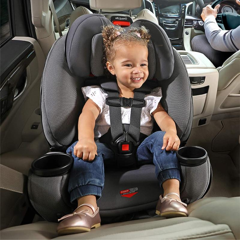 All-In-One Car Seat 10 Years of Infant, Convertible, to 120
