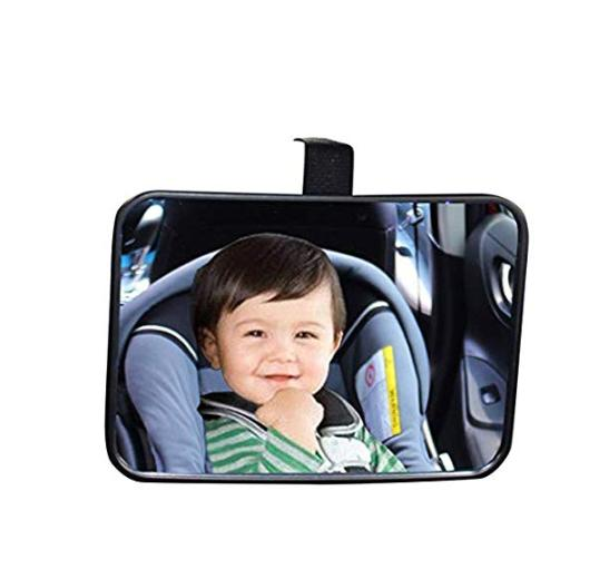 Baby Back Seat Car Mirror Rear Facing View Infant Child Shat
