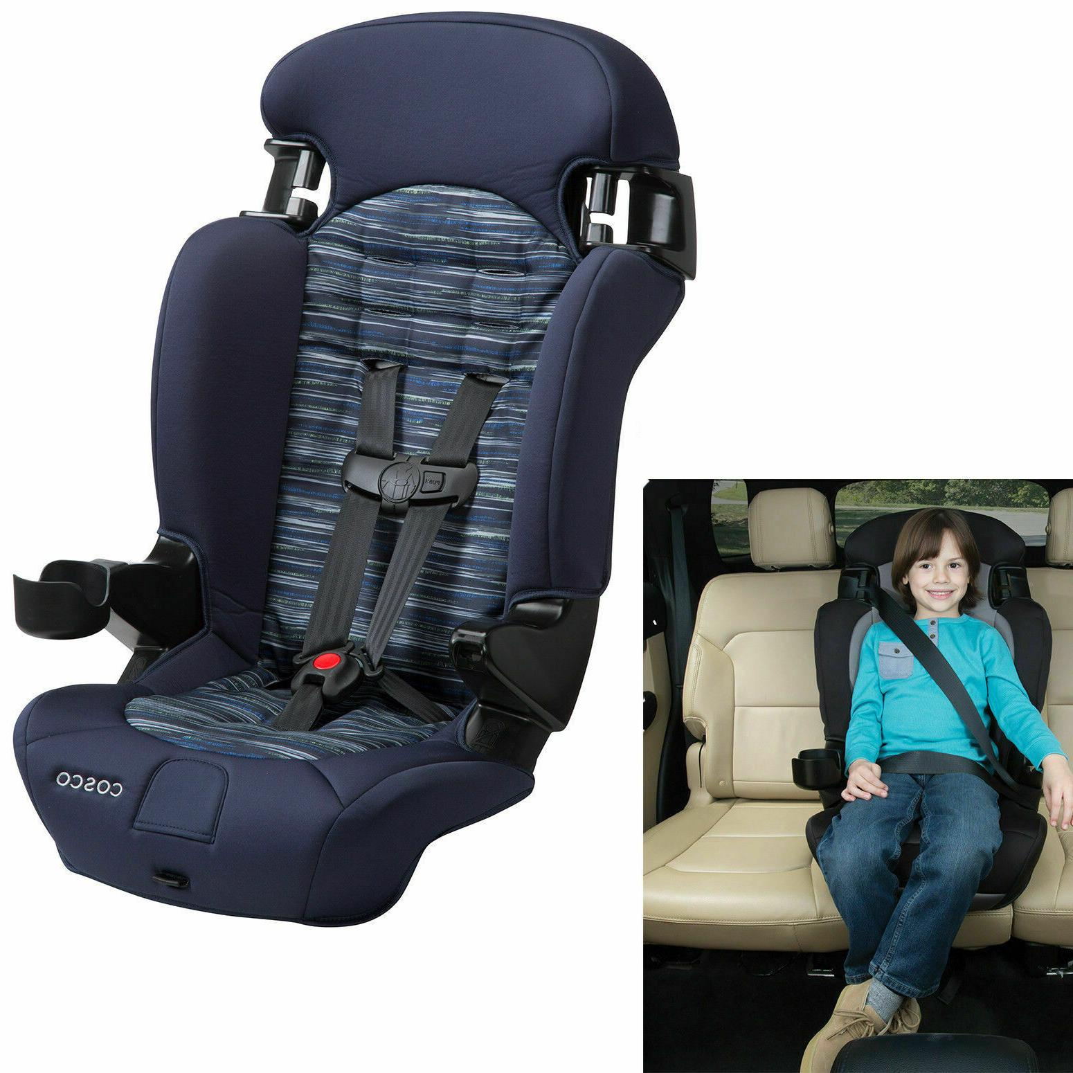 Baby Convertible Car Seat 2in1 Toddler Highback Booster Safe
