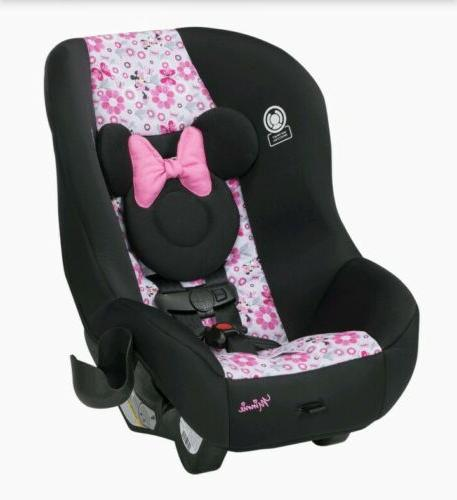 Disney Luxe Minnie Mouse Convertible Car Seat Plastic
