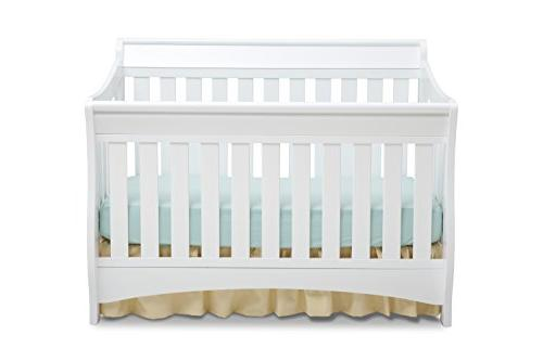 Delta Children Series Crib, White