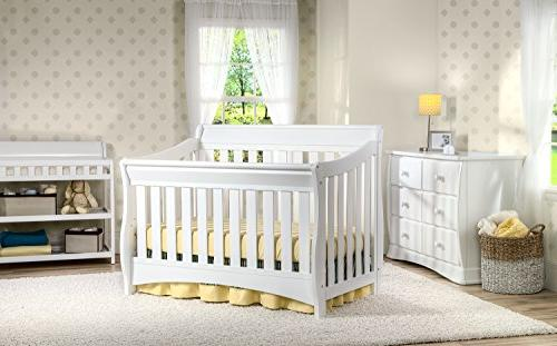 Delta Series 4-in-1 Crib, White