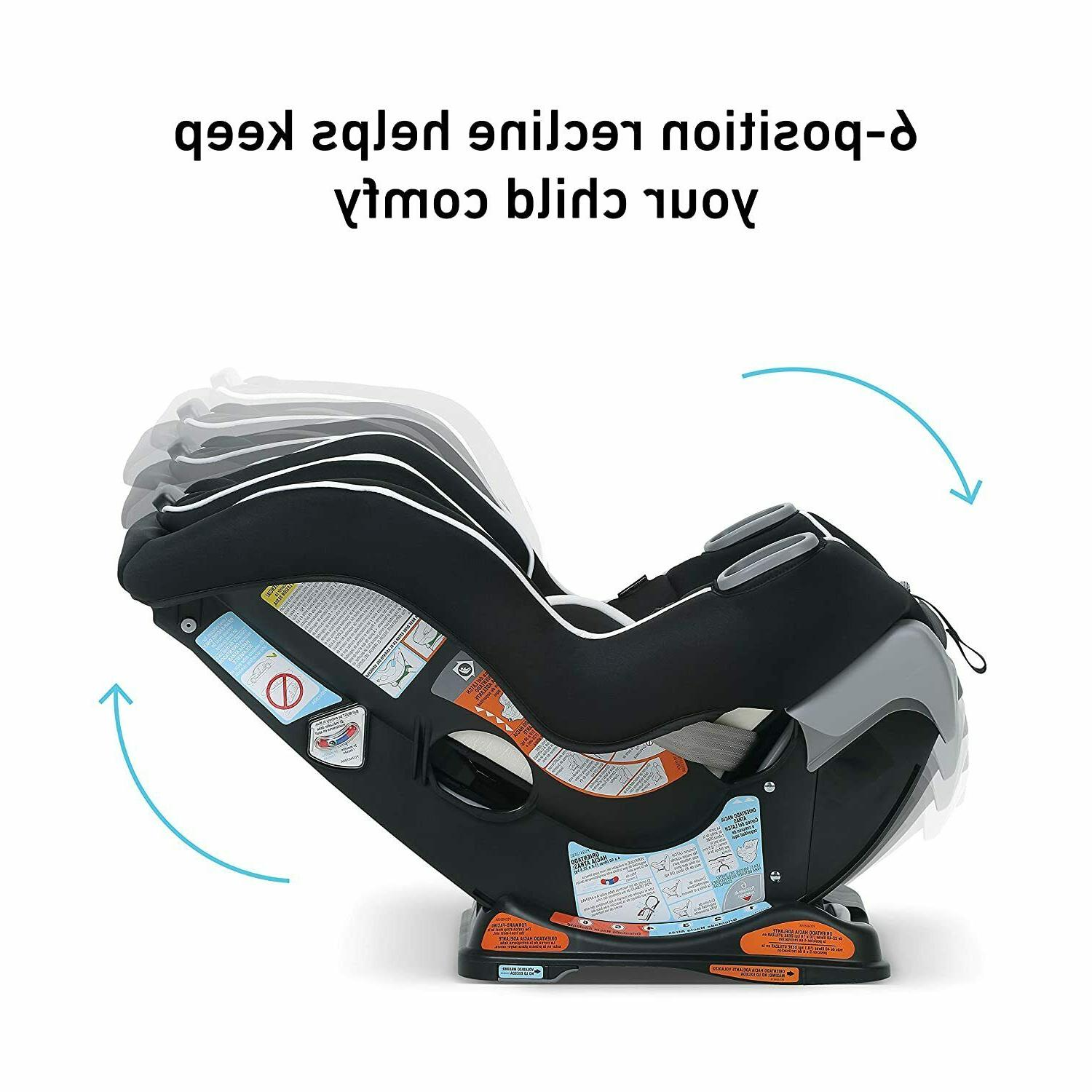 Graco Extend2Fit Seat Ride Facing with Extend2Fit