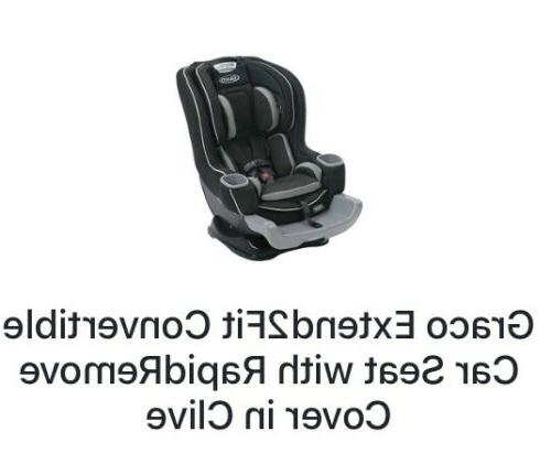 extend2fit convertible car seat with rapid remove