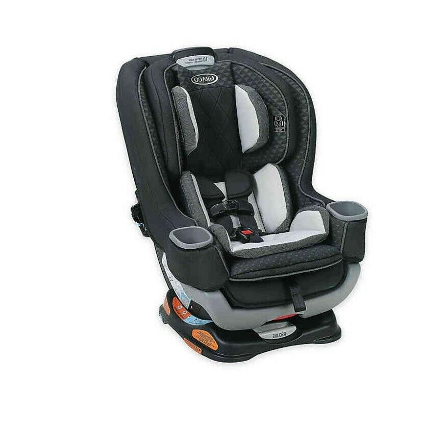 extend2fit platinum convertible car seat in mave