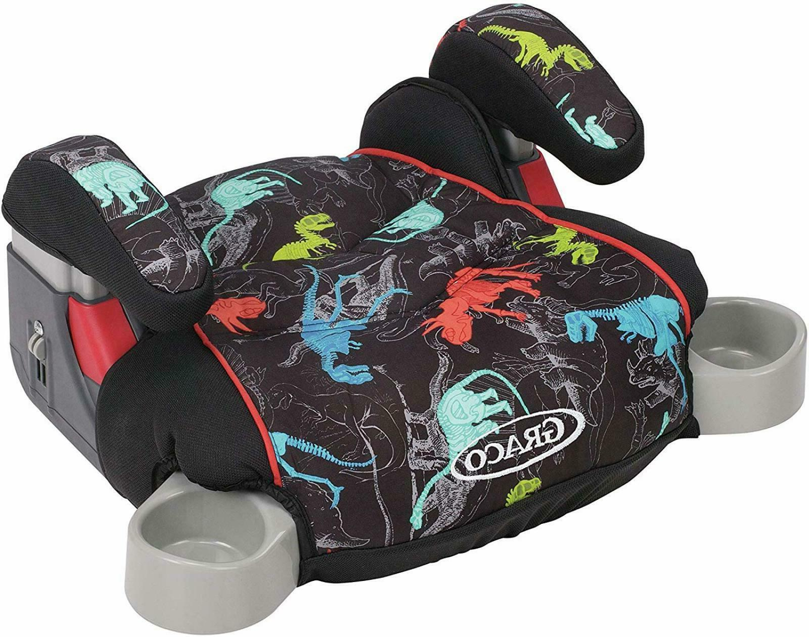 Graco TurboBooster Backless Car Seat Kids Baby Safety Seat B