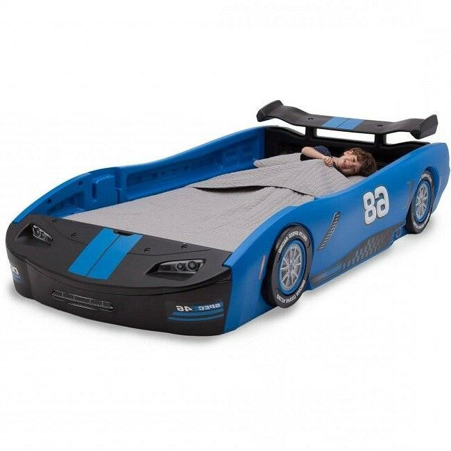 Kids Twin Bed Race Car Toddler Beds For Boys Room Furniture