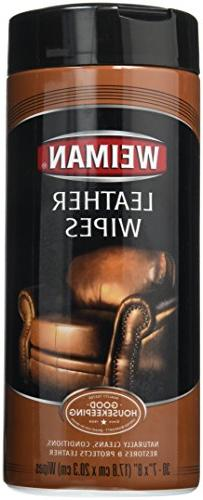 Weiman #47 30CT Leather Wipes