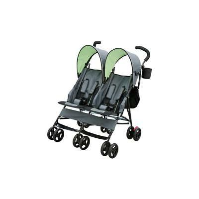 Delta LX by Side Stroller, Lime Green