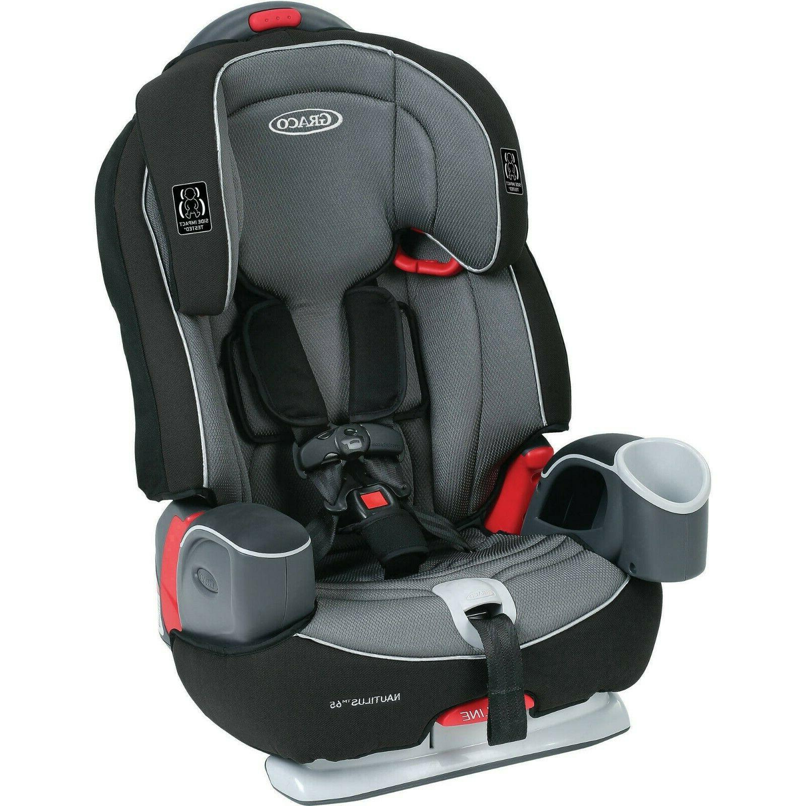 65 3-in-1 Harness Booster Car Seat Baby-Toddler- Child Conve