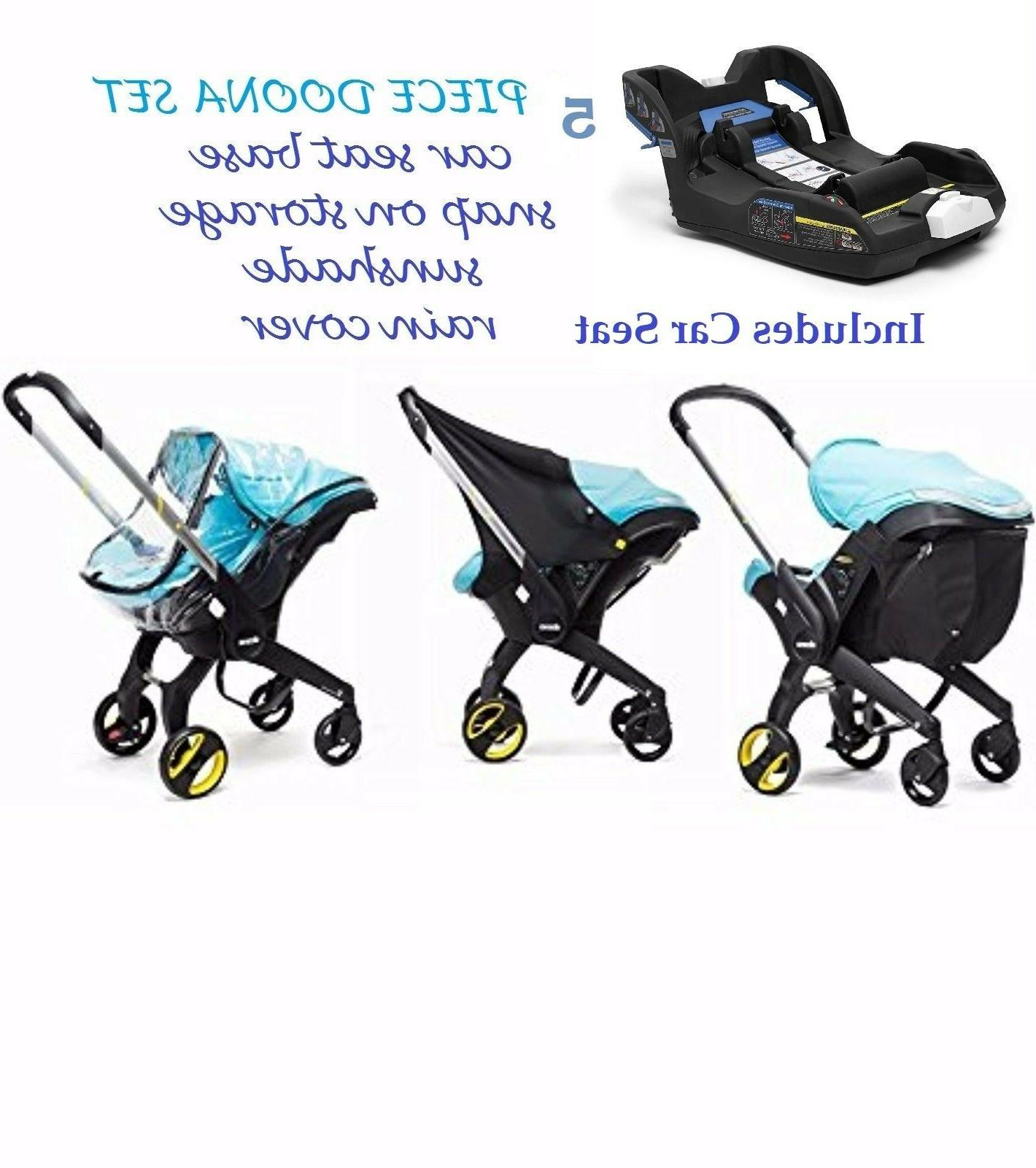 pram 5 pc set car seat plus