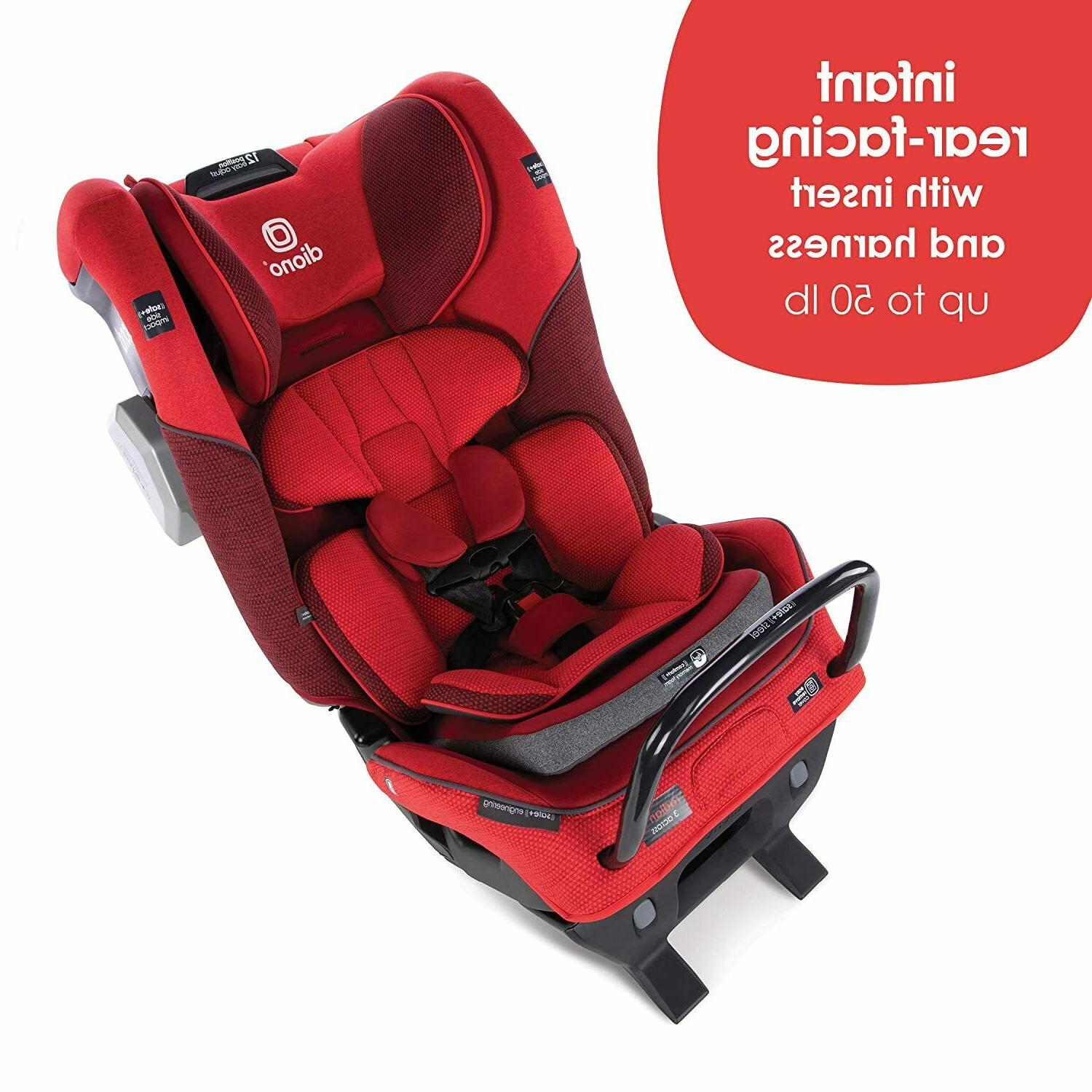 Diono Radian Booster Car Seat Red