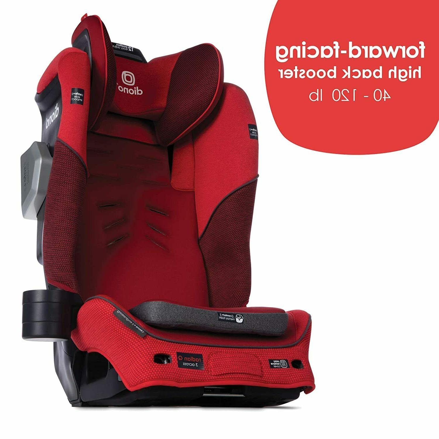 Diono Booster Car Seat Red