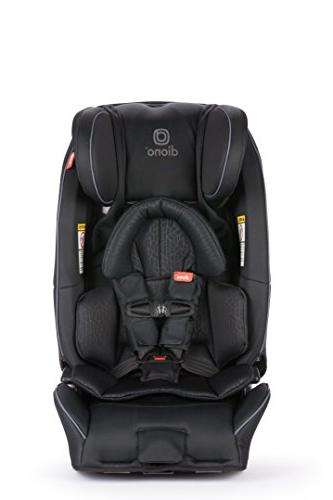 Diono Radian Convertible Extended Rear-Facing Pounds, Forward-Facing to 65 Pounds, Booster to - 3 Across, Black