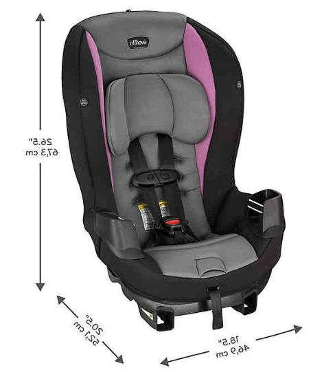 Evenflo® Sonus Convertible Car Seat - Brand - Shipping