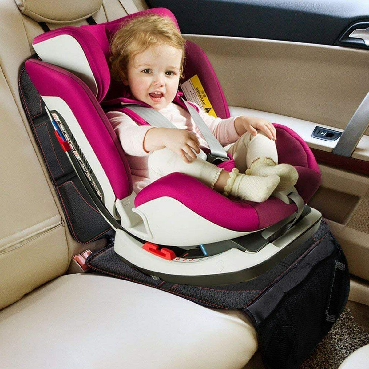 Baby Car Seat Protector Mat Covers Under Child Seat Leather
