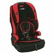 Graco Wayz 3-in-1 Harness Booster Car Seat safety kids, Gord