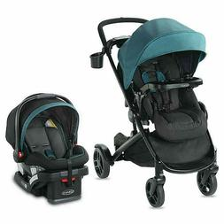 Graco Modes2Grow Baby Travel System with Infant Car Seat Cli