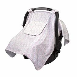 Summer Infant Muslin Little Looks Car Seat Cover - Medallion
