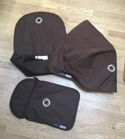 NEW bugaboo cameleon tailored fabric set Carrycot Sun Canopy