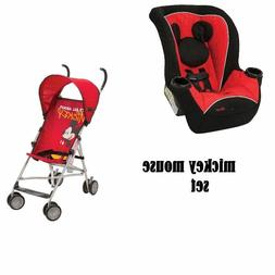 NEW Mickey Mouse Infant Toddler Baby Convertible Car Seat &