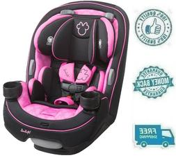 New Disney Minnie Mouse Pink  Girl Convertible Car Seat Kid