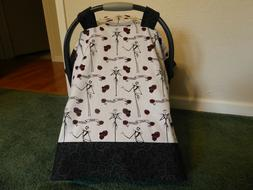 **NIGHTMARE BEFORE CHRISTMAS*w/Jack Baby Car Seat Canopy-Cov