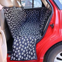 Pet Seat Cover for Dogs Car Back Seat Protector Hammock Wate