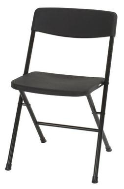 Cosco Resin Folding Chair with Molded Seat and Back -