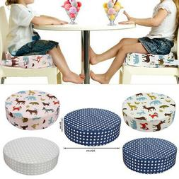 Round Booster Seat for Kids Thick Chair Increasing Cushion P
