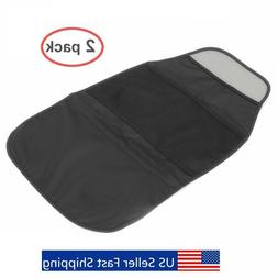 Set of 2 Packs Car Seat Back Protector - Kids Kick Mat with