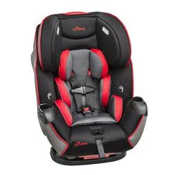 EVENFLO SYMPHONY LX ALL-IN-ONE CONVERTIBLE CAR SEAT,BLACK/RE