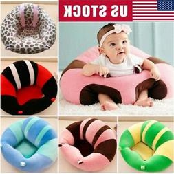US Newborn Baby Soft Sofa Pillow Seat Sit Support Protector